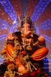 Идол лорда Ganesha, Пуны, махарастры, Индии стоковое фото