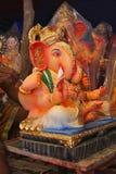 Идол лорда Ganesha, фестиваля Ganapati, Пуны, махарастры стоковое изображение rf