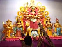 Идол Durga Стоковые Изображения