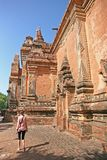 Идти вокруг виска Bagan стоковое изображение