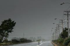 идти дождь время Стоковое Изображение RF