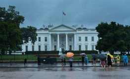 Идти дождь день в DC Washingong стоковые изображения