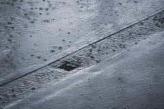 идти дождь Стоковые Изображения RF
