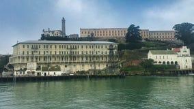 Идти морским путем к тюрьме в острове стоковые изображения rf