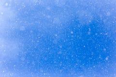 Идти снег на голубом небе Стоковые Изображения RF