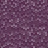 Идти Dotty на пурпуре Стоковые Изображения RF