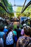 Идти Montmartre фуникулярный к Sacre Coeur Стоковое Изображение RF