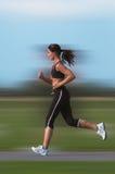 идущая женщина Стоковая Фотография