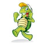 Идущая черепаха иллюстрация штока