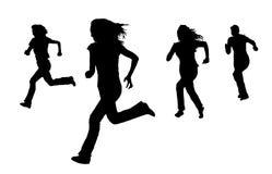 идущие женщины Стоковое Фото