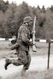 идущий воин Стоковое Изображение RF