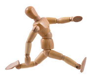 Идущий манекен Стоковая Фотография RF
