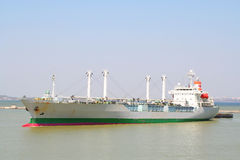 идя гаван корабль к Стоковая Фотография RF