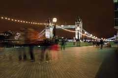 идя домашняя ноча london Стоковое Фото