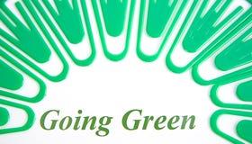 идя зеленый цвет Стоковые Фото