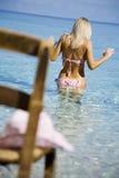 идя море Стоковая Фотография RF