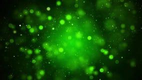 Идя снег с Рождеством Христовым предпосылка зеленого цвета зимнего отдыха акции видеоматериалы