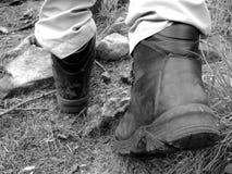 идя hiking стоковое фото rf