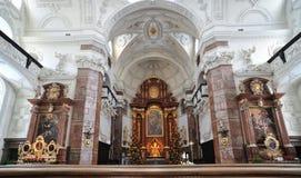иезуит innsbruck церков Стоковое фото RF