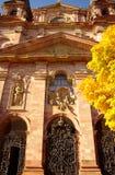 иезуит mannheim Германии церков внешний Стоковая Фотография