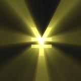 иены знака света пирофакела валюты Стоковое Изображение RF