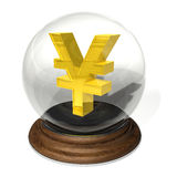 иены знака Стоковое Изображение RF