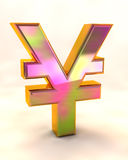 иены знака Стоковое Изображение