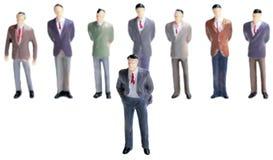 Иерархия руководства бизнесом Стоковое Изображение