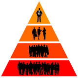 иерархия иллюстрация штока