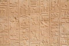 Иероглифы. Египет Стоковые Фото