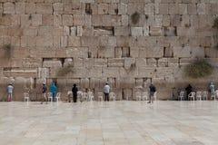 Иерусалим - западная стена Стоковое Фото