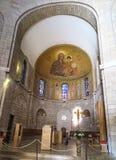 ИЕРУСАЛИМ, ИЗРАИЛЬ - 15-ОЕ ИЮЛЯ 2015: Богато украшенный купол в Стоковые Изображения
