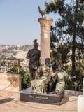 ИЕРУСАЛИМ, ИЗРАИЛЬ 13-ое июля 2015 Памятник St Peter который отказал j Стоковое фото RF