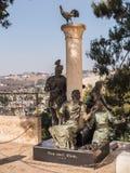 ИЕРУСАЛИМ, ИЗРАИЛЬ 13-ое июля 2015 Памятник St Peter Стоковое Изображение