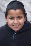 ИЕРУСАЛИМ, ИЗРАИЛЬ - 15-ОЕ МАРТА 2006: Масленица Purim в известном ультра-правоверном квартале Иерусалима - Mea Shearim Стоковая Фотография RF