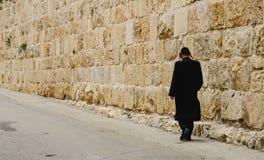 Иерусалим Прогулки города стоковая фотография