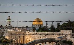 Иерусалим защитил Стоковое Изображение RF