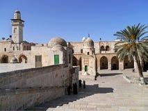 Иерусалим, подход к Temple Mount Стоковые Фото