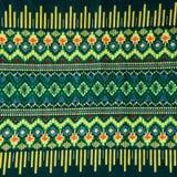 дизайны картины на ткани Стоковые Изображения