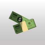 дизайн концепции финансирования Стоковое Фото