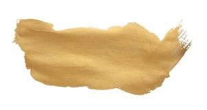 дизайн хода щетки текстуры золота Стоковые Фото