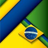 дизайн штемпеля Бразилии бесплатная иллюстрация