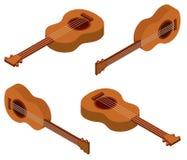 дизайн 3D для гавайской гитары бесплатная иллюстрация