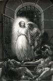 Избавление St Peter от иллюстрации тюрьмы бесплатная иллюстрация