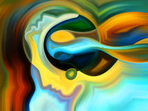 Избежание внутренней краски Стоковое Изображение