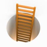 Избежание лестницы показывает получает отсутствующим и увиливает Стоковые Фотографии RF