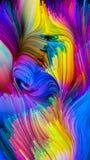 Избежание жидкостного цвета Стоковое Изображение RF