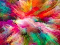 Избежание сюрреалистической краски стоковые фотографии rf