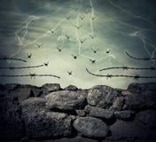 Избежание тюрьмы стоковое фото