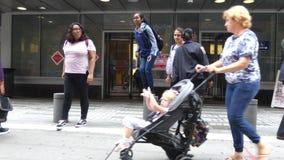 Избирательный пункт Нью-Йорка акции видеоматериалы